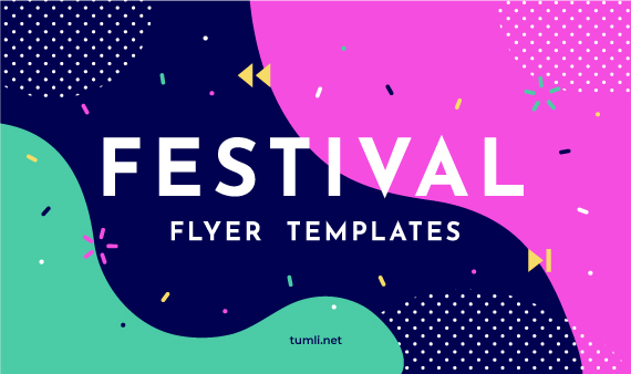 Free Festival Flyer Templates & Creative Party Flyer Designs