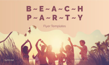 12+ Hot Beach Party Flyer Design Ideas & Free Pool Party Poster Templates