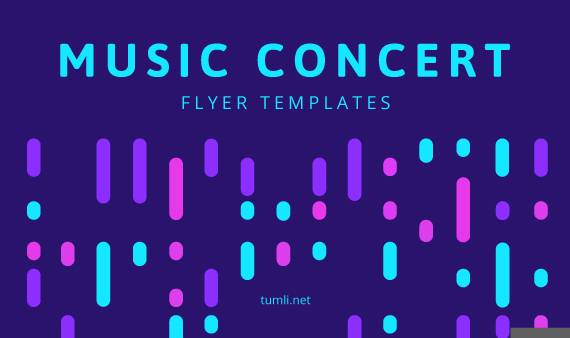 Best Music Concert Poster Templates & Free Concert Flyer Designs