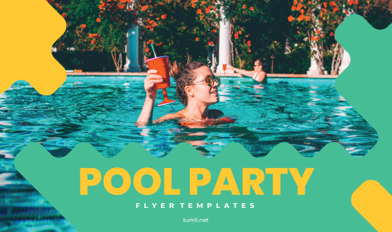 Free Pool Party Invitation Templates & Best Pool Party Flyer Designs