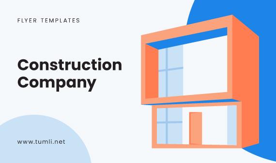 9+ Construction Company Flyer Templates & Free Building Company Flyer Designs