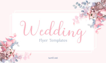 Free Wedding Flyer Templates & Elegant Bridal Design Ideas