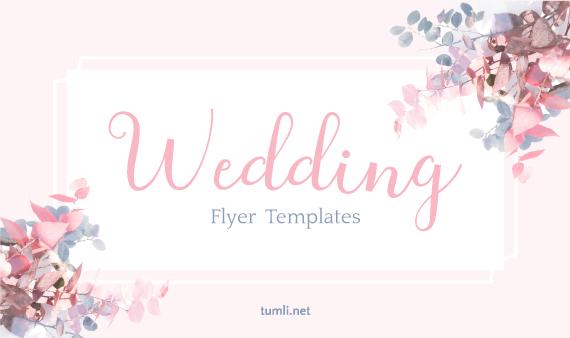 Free Wedding Flyer Templates & Elegant Bridal Design Ideas