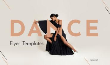 Top School Dance Posters & Free Dance Classes Flyer Design Ideas