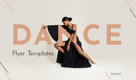 Top School Dance Posters & Free Dance Classes Flyer Design Ideas