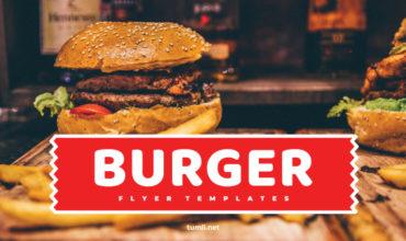 Best Burger Poster Designs & Burger Restaurant Flyer Templates