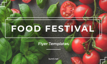 Best Food Festival Flyer Designs & Free Food Festival Flyer Templates