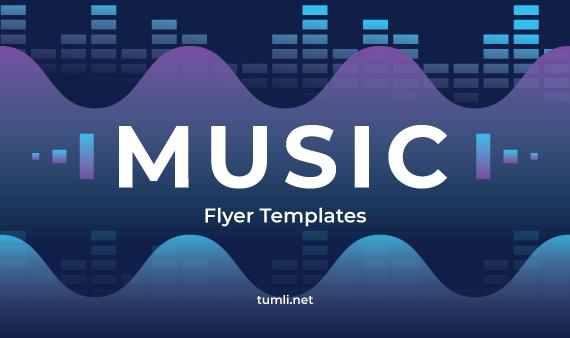 Best Music Flyer Designs & Free Music Flyer Templates