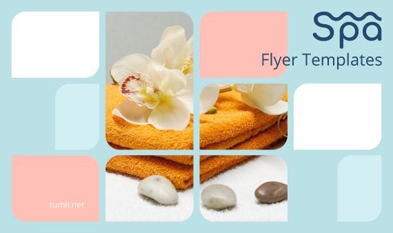 Best SPA Flyer Designs  Best SPA Flyer Templates | Tumli