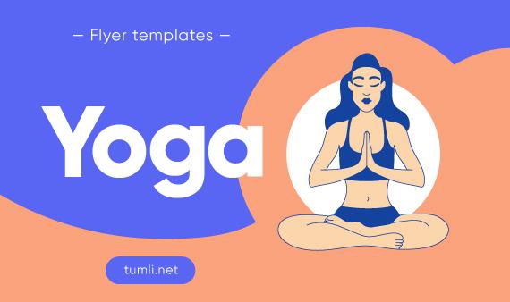 Best Yoga Flyer Designs & Free Yoga Classes Flyer Templates