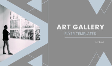 Free Gallery Flyer Templates & Best Art Gallery Flyer Designs