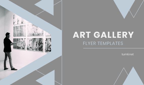 Free Gallery Flyer Templates & Best Art Gallery Flyer Designs