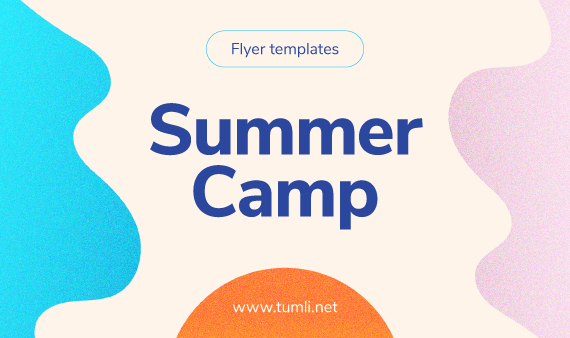 Best Kids Summer Camp Flyer Design Templates Tumli