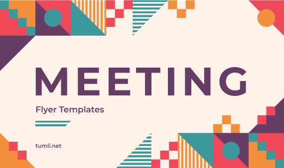 Top 10+ Meeting Flyer Designs & Free Meeting Flyer Templates