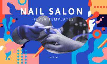 Top Nail Salon Flyer Designs & Free Nail Salon Flyer Templates