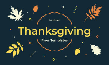 Top 8+ Thanksgiving Flyer Designs & Free Thanksgiving Flyer Templates