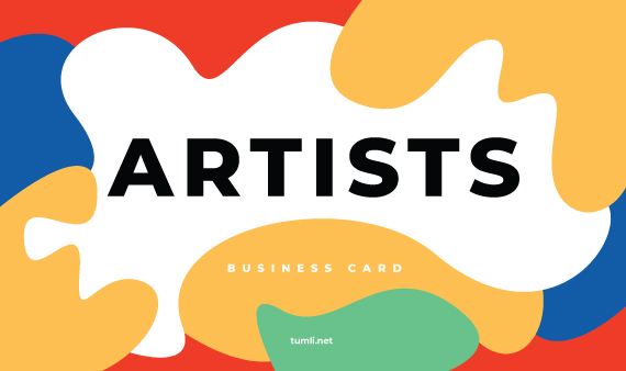 Best Business Card for Artists & Business Card Ideas for Artists