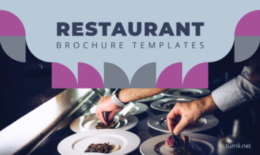 Best Restaurant Brochure Templates & Restaurant Brochure Designs