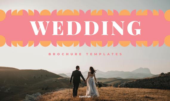 Best Wedding Brochure Templates & Wedding Brochure Designs