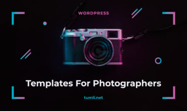Best Photographers WordPress Themes