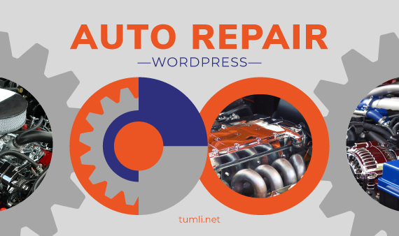 Top Auto Repair WordPress Themes