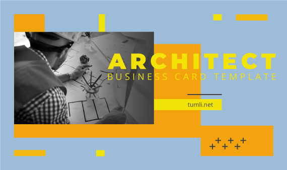 Best Architect Business Card Templates & Architect Business Card Designs