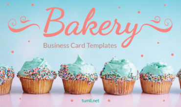 Best Bakery Business Card Templates & Free Bakery Business Card Designs