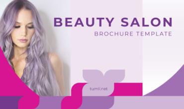 Best Beauty Salon Brochure Templates & Beauty Salon Brochure Designs