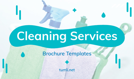Best Cleaning Brochure Templates & Cleaning Brochure Designs