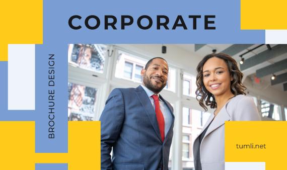 Best Corporate Brochure Templates & Corporate Brochure Designs