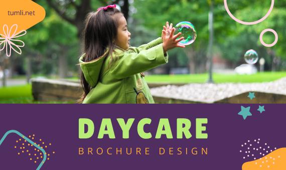 Best Daycare Brochure Templates & Daycare Brochure Designs