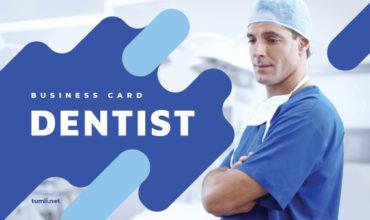 Best Dentist Business Card Templates & Dentist Business Card Designs