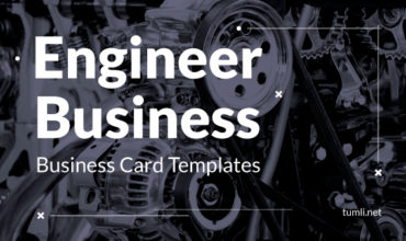 Best Engineer Business Card Templates & Engineer Business Card Designs