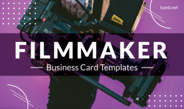 Best Filmmaker Business Card Templates & Filmmaker Business Card Designs