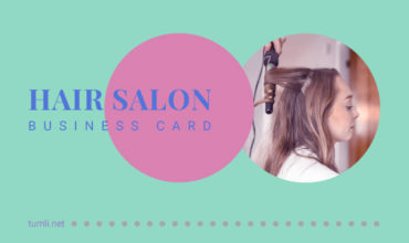 Best Hair Salon Business Card Templates & Free Hair Salon Business Card Designs