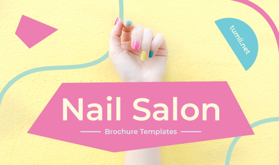 Best Nail Salon Brochure Templates & Nail Salon Brochure Designs
