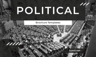 Best Political Brochure Templates & Political Brochure Designs