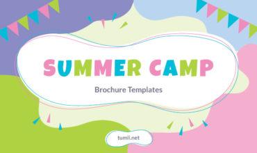 Best Summer Camp Brochure Templates & Summer Camp Brochure Designs