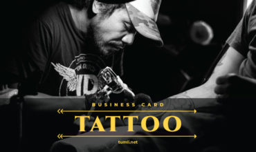 Best Tattoo Business Card Templates & Tattoo Business Card Designs