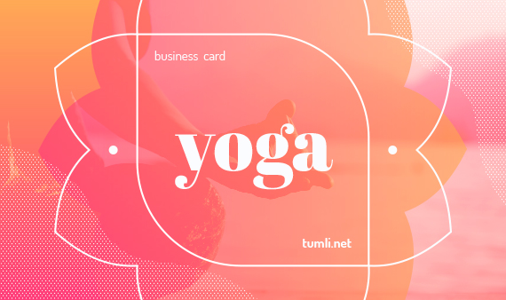 Best Yoga Business Card Templates & Free Yoga Business Card Designs