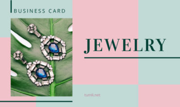 Free Jewelry Business Card Templates & Best Jewelry Business Card Designs