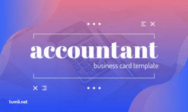 Best Accountant Business Card Templates & Free Accountant Business Card Designs
