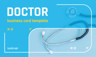 Best Doctor Business Card Templates & Top Doctor Business Card Designs