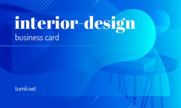 Best Interior Design Business Card Templates & Free Business Card for Interior Design