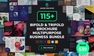Brochure Templates Multipurpose Business Bundle