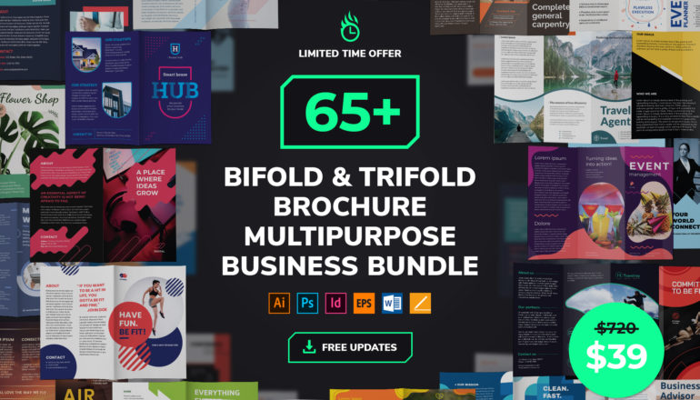 Brochure Templates Multipurpose Business Bundle