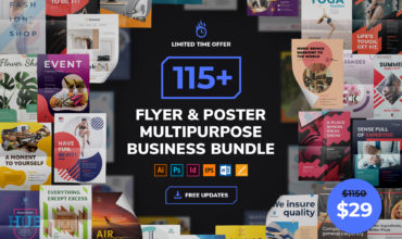 Flyer & Poster Templates Multipurpose Business Bundle