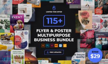 Flyer & Poster Templates Multipurpose Business Bundle