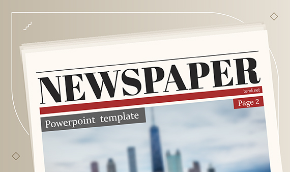 Newspaper PowerPoint Templates & Newspaper PowerPoint Slides