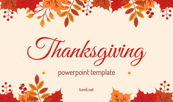 Thanksgiving PowerPoint Templates & Thanksgiving Google Slides Presentation
